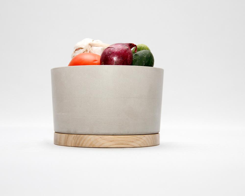 Concrete bowl small