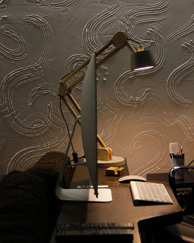 BlackGizmo table lamp DL025